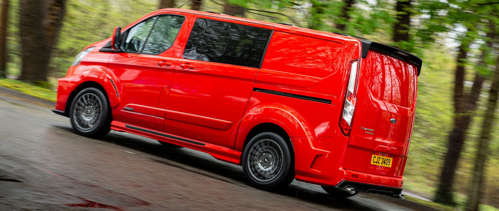 New Red Van